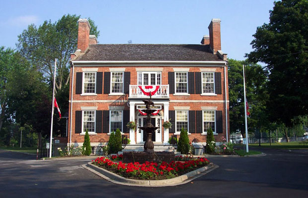 Town Hall in Gananoque, ON