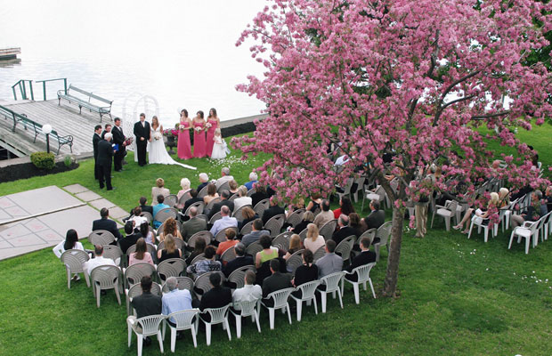 Glen House Resort wedding